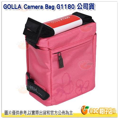 芬蘭時尚 GOLLA G1180 相機包 公司貨 攝影包 桃紅色 EP1 EP2 EPL1 EPL2 NEX-3 NEX-5 GF1 GF2 NX10 NX100