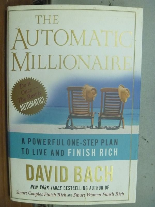 【書寶二手書T3/財經企管_IAG】The Automatic Millionaire_David Bach