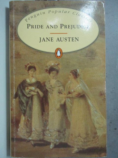 【書寶二手書T1/原文小說_HBD】Pride and prejudice_Jane Austen