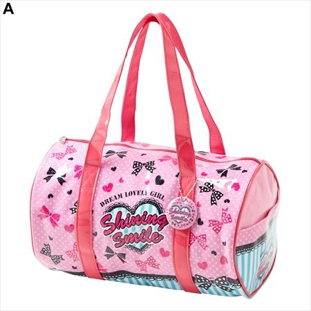 【NISSEN】背包 附名牌 圓筒型手提包(女孩) 4款