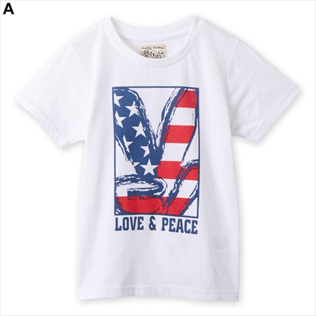 【NISSEN】童裝|上衣|T恤|特價短袖印花T恤|2色