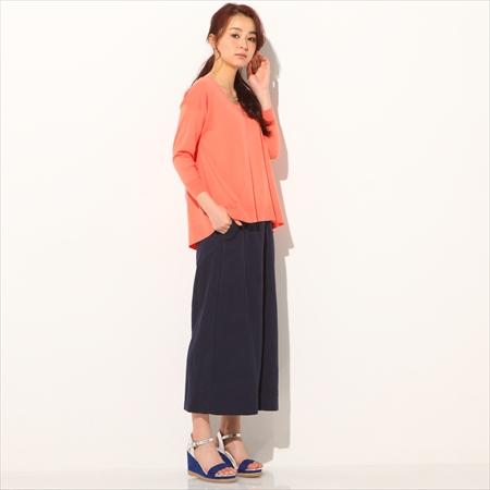 【NISSEN】女裝|上衣|純棉|毛衣|100%純棉7分袖小高領毛衣|4色
