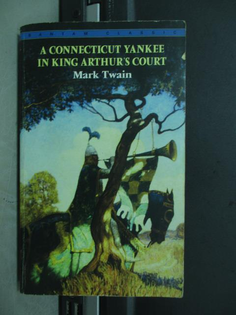 【書寶二手書T1/原文小說_MMT】A connectiout yankee in king..._1981