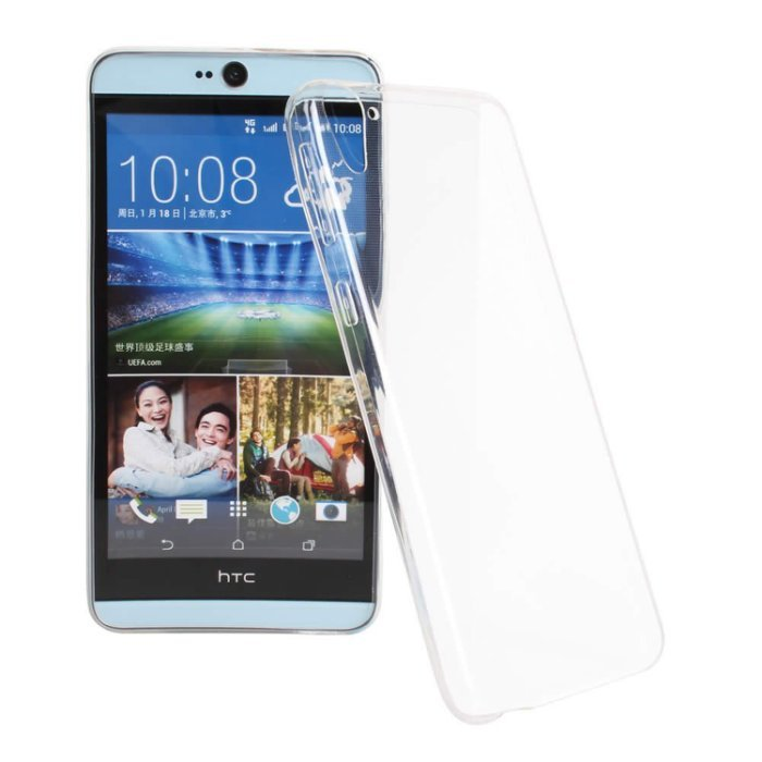 Ultimate-HTC Desire 826 超薄全透點紋軟質手機外殼防摔背蓋保護套 TPU透明軟殼 保護殼 手機殼