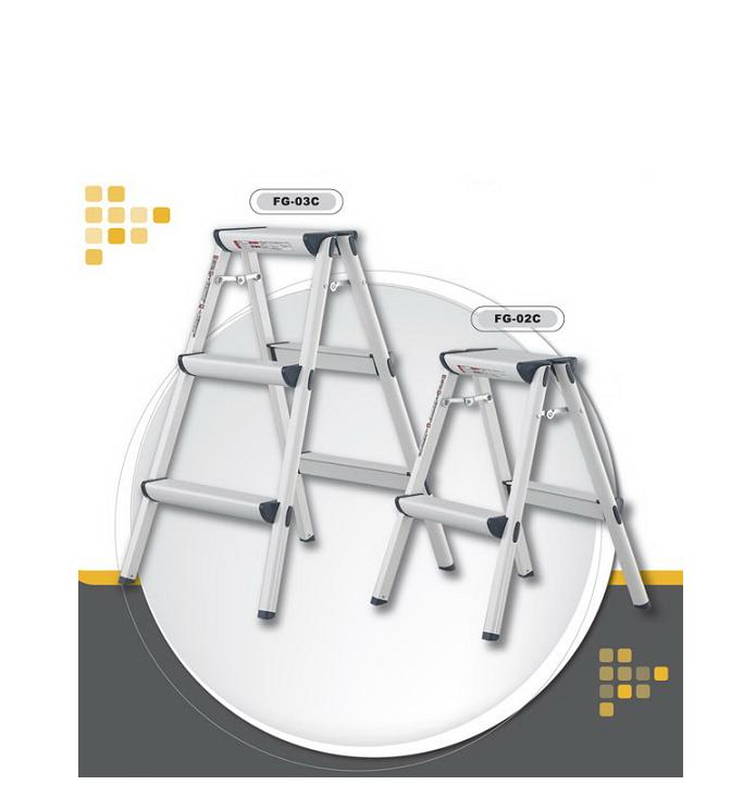 金梯屋 FG-02C鋁製 折疊梯 家用梯 工作梯