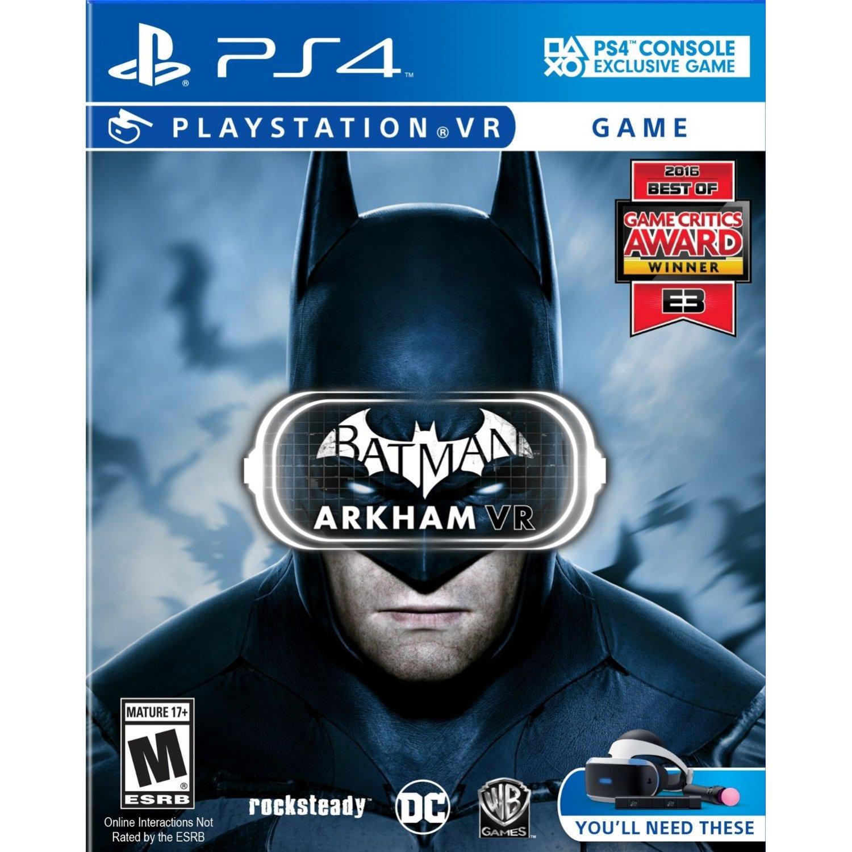 現貨供應中 英文版 PSVR專用軟體 [限制級] PS4 蝙蝠俠 阿卡漢 VR