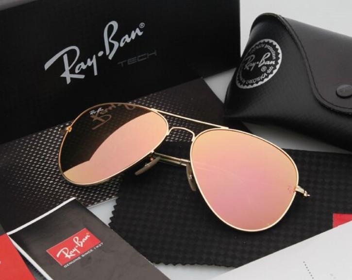 Ray Ban 雷朋 水銀鍍膜 霧金 太陽眼鏡 RB3025