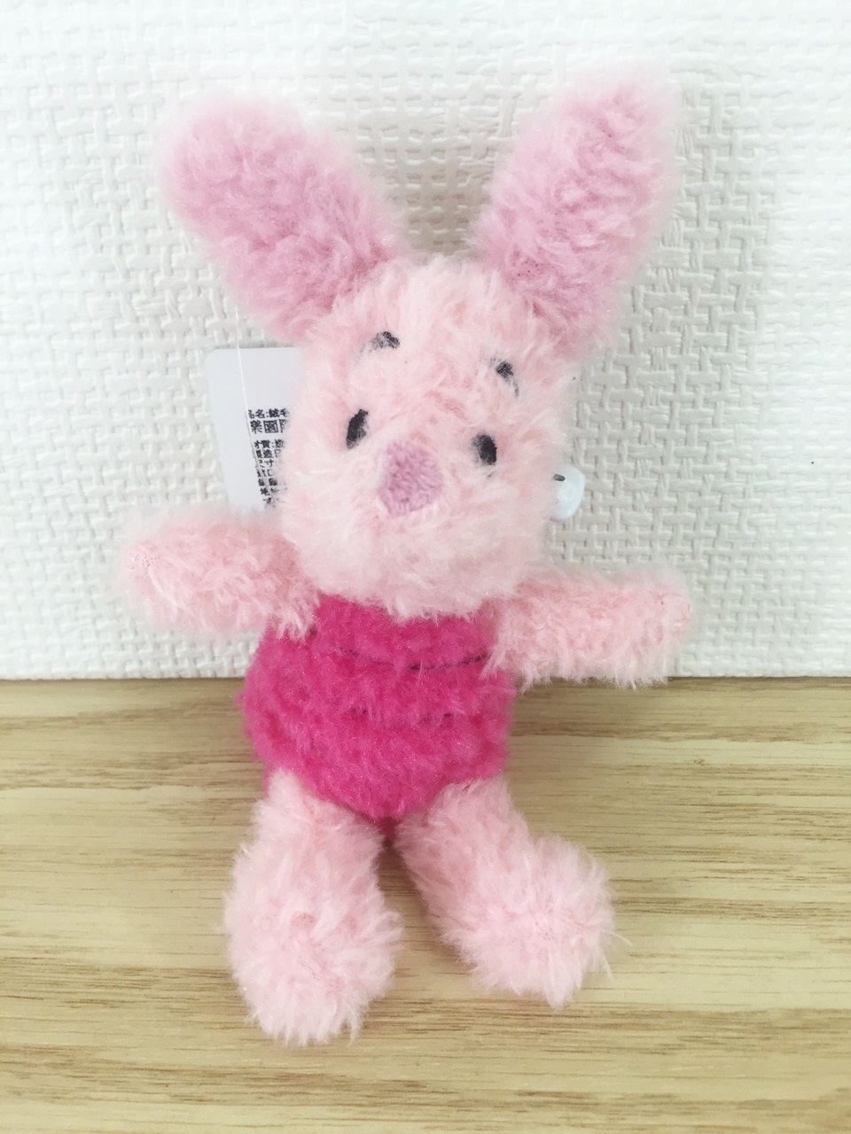 【真愛日本】15121500019 樂園限定吊飾娃SS-經典小豬 迪士尼 維尼家族 POOH 吊飾 娃娃 鑰使圈