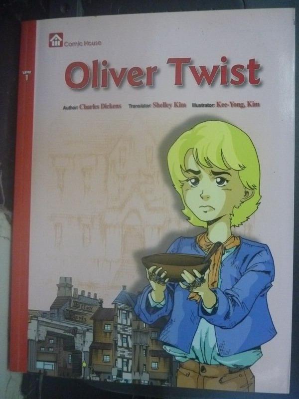 【書寶二手書T3/少年童書_ZBU】Oliver Twist_Charles Dickens