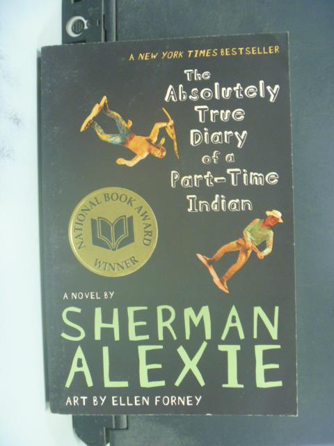 【書寶二手書T1/原文小說_IAC】Absolutely True Diary of a Part-Time Indian
