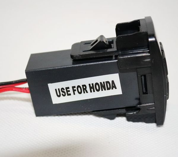 HONDA  USB預留孔 USB 插座 USB充電孔車充 車用充電器 USB車充 2A雙出 手機/平板充電 HONDA 車系