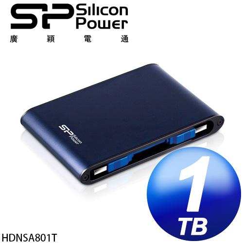 廣穎 Silicon Power Armor A80 1TB USB3.0 2.5吋行動硬碟