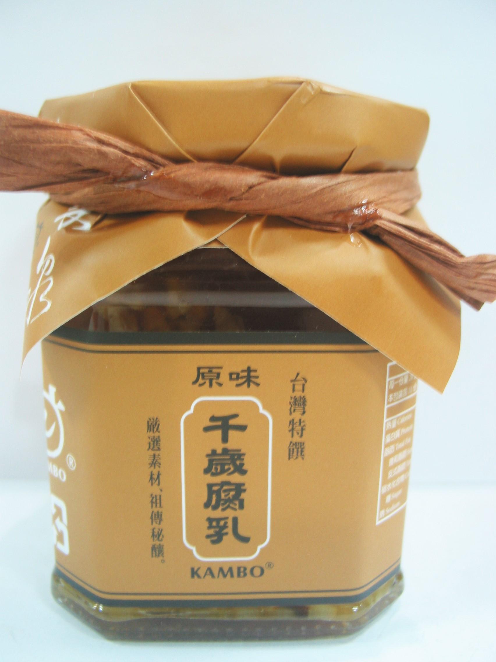 台灣特饌~原味千歲腐乳220公克/罐