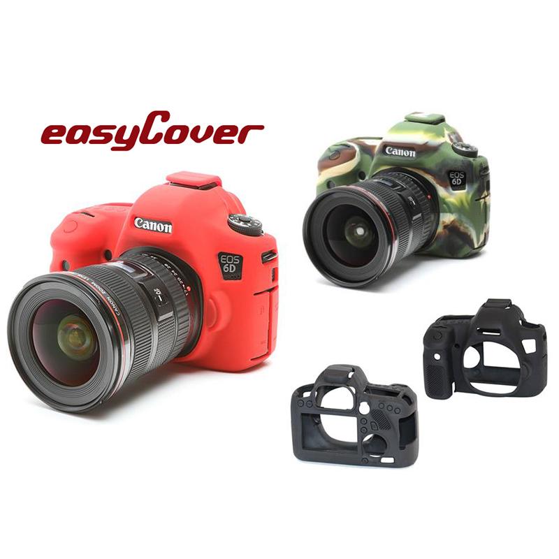 ◎相機專家◎ easyCover 金鐘套 Canon 6D 機身適用 果凍 矽膠 保護套 金鐘罩 公司貨 另有5D 7D