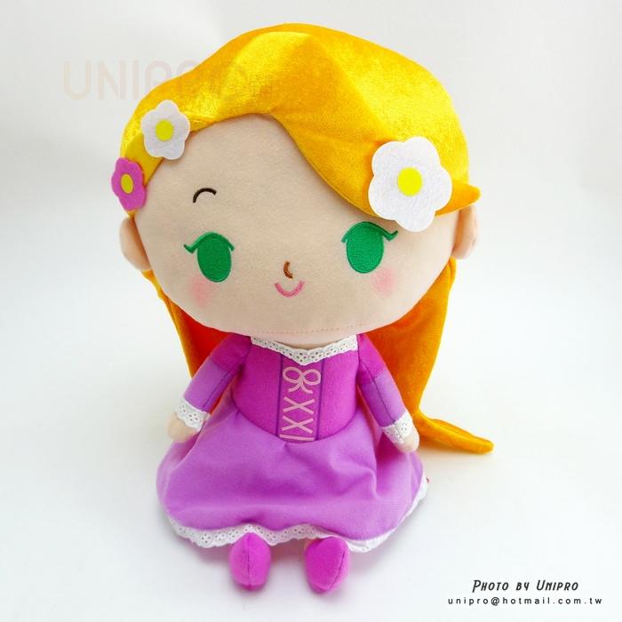 【UNIPRO】魔髮奇緣 樂佩 34公分 玩偶 娃娃 布偶 迪士尼公主 長髮公主 Tangled Rapunzel