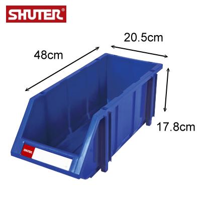 樹德 HB-2045  經典耐衝擊分類置物盒 / 可堆疊零件整理箱 ( 箱購12入 )
