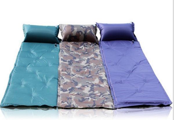 自動充氣墊 自動充氣床墊 防潮睡墊 露營睡墊 可拼接 送背袋