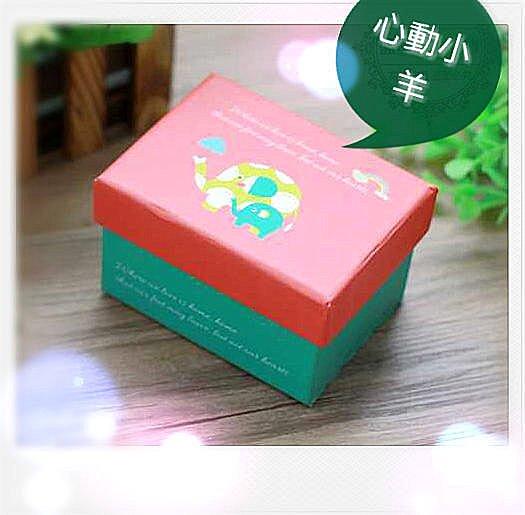心動小羊^^羊毛氈手工皂送人必備,小禮盒(紅色)