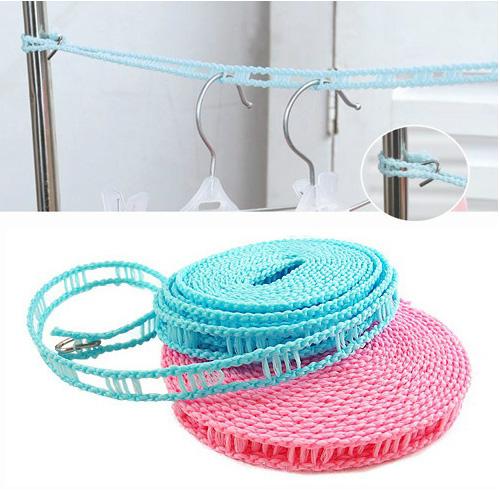 曬衣繩 5米優質防滑防風晾衣繩 戶外旅行晾曬掛繩