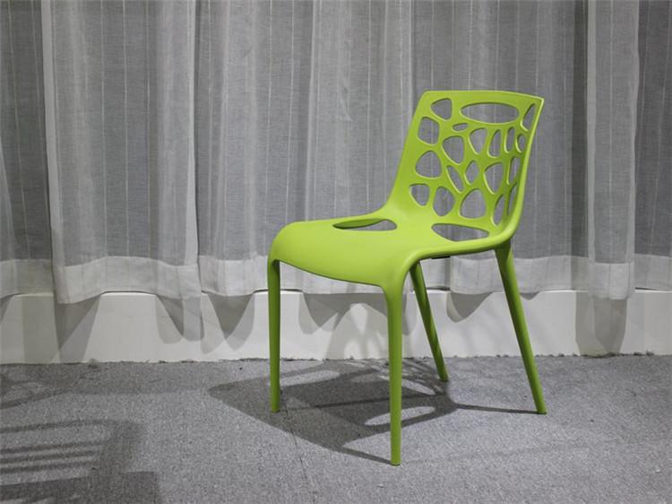 【新生活家具】 休閒椅 洞洞椅 餐椅 北歐風 綠色 造型椅 簍空泡泡椅 洽談椅 蒂爾 非 H&D ikea 宜家