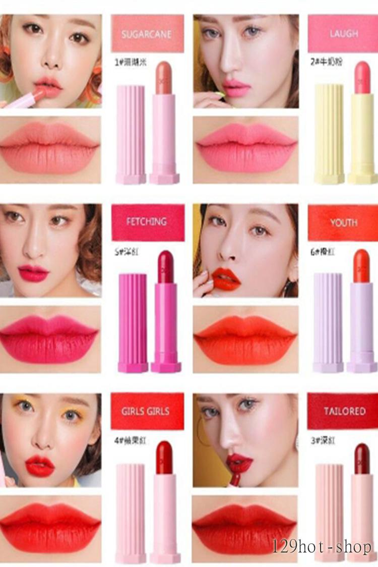 Love馬卡龍系列復古口紅唇膏