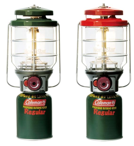Coleman 新北極星瓦斯燈-綠/紅 CM-5520/CM-5521
