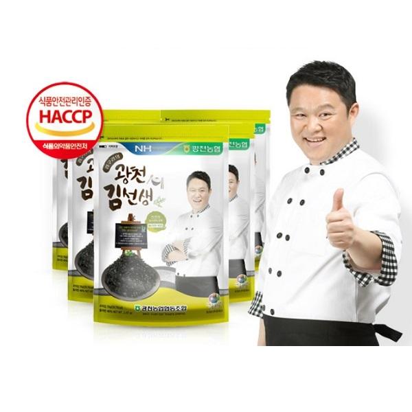 韓國海苔酥 名主持人 金九拉代言推薦