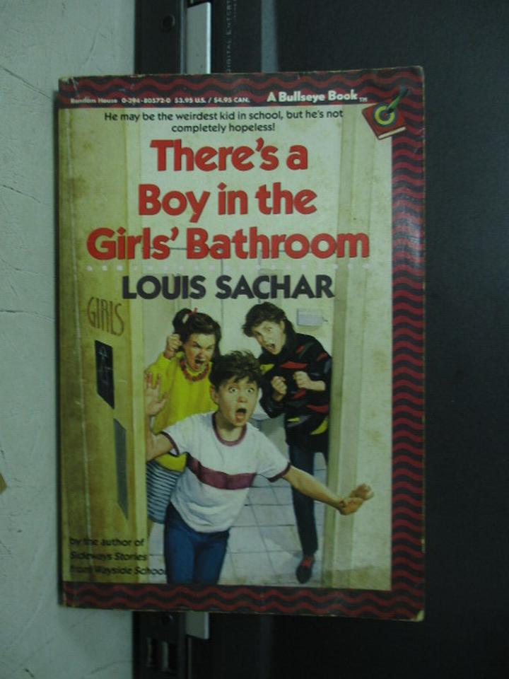 【書寶二手書T9/原文小說_NMM】There's a boy in the girls's..._sachar