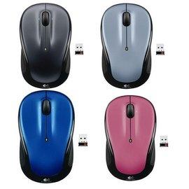 羅技 M325 無線光學滑鼠 2.4GHz【 黑/藍/紅/銀 】(批發可議)