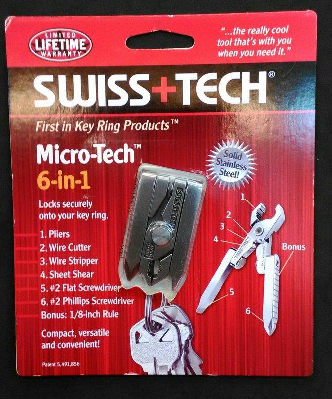 Swiss+Tech Micro-Tech 6-in-1 6合1多用途工具組