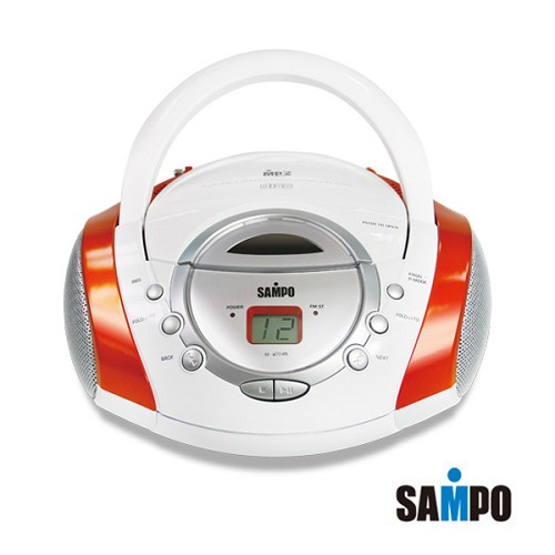 【威利家電】 【分期0利率+免運】SAMPO聲寶MP3/CD/AM/FM手提音響 AK-W709ML