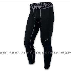 Shoestw【449822010】NIKE PRO 萊卡 DRI-FIT 緊身束褲 保暖 長束褲 排汗 慢跑 黑色