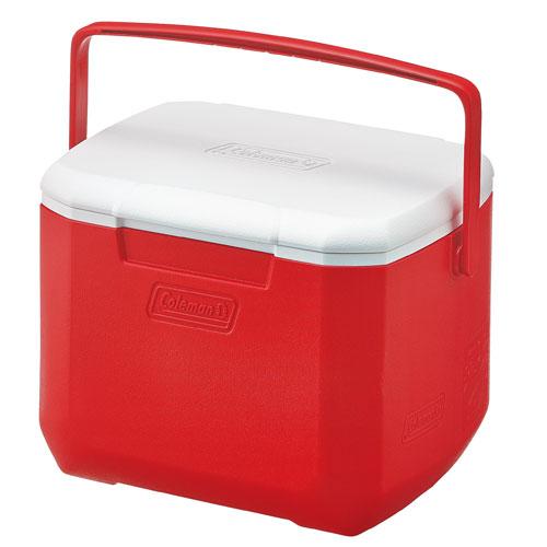 【露營趣】中和 Coleman CM-27860 15L Excursion 美利紅冰箱 手提冰桶 露營冰桶 行動冰箱 野餐籃