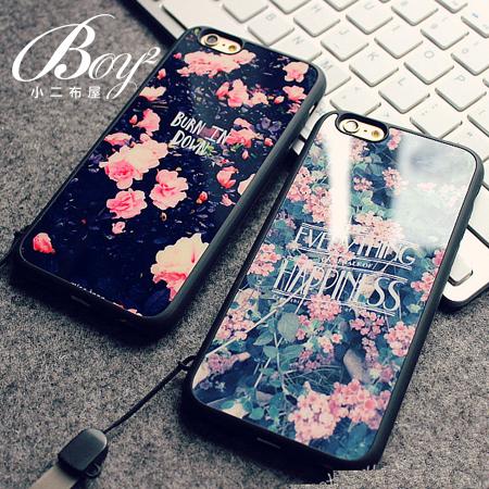 ☆BOY-2☆【N4003】復古花掛繩手機殼 蘋果iPhone6 5/5s