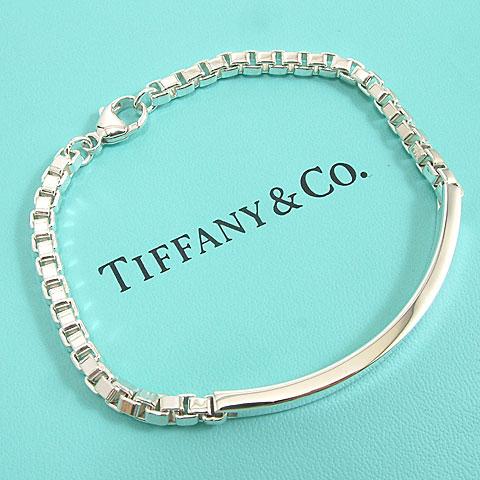 【奢華時尚】TIFFANY&Co. 威尼斯 ID 925純銀手鍊#4931