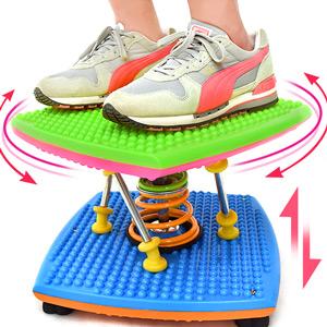 炫彩雙彈簧扭腰跳舞機(結合跳繩.扭腰盤.呼拉圈)跳舞踏步機美腿機跳跳樂.扭扭盤扭腰機.運動健身器材.推薦哪裡買ptt  C169-85A