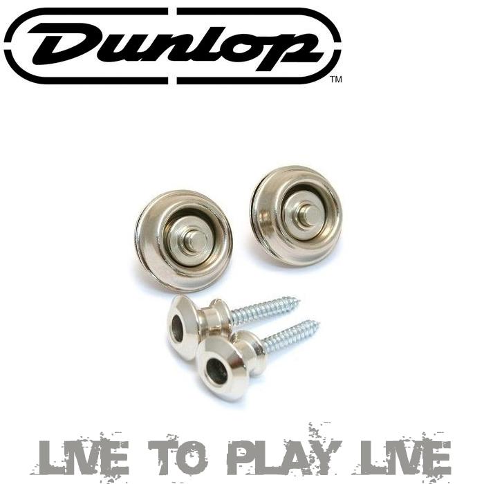 【非凡樂器】『Dunlop安全背帶扣』SLS系列安全背帶扣【銀色】(U.S.A)