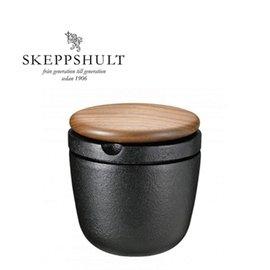 Skeppshult 瑞典製  鑄鐵鹽罐- 山毛櫸上蓋 Sweden 【Limiteria】