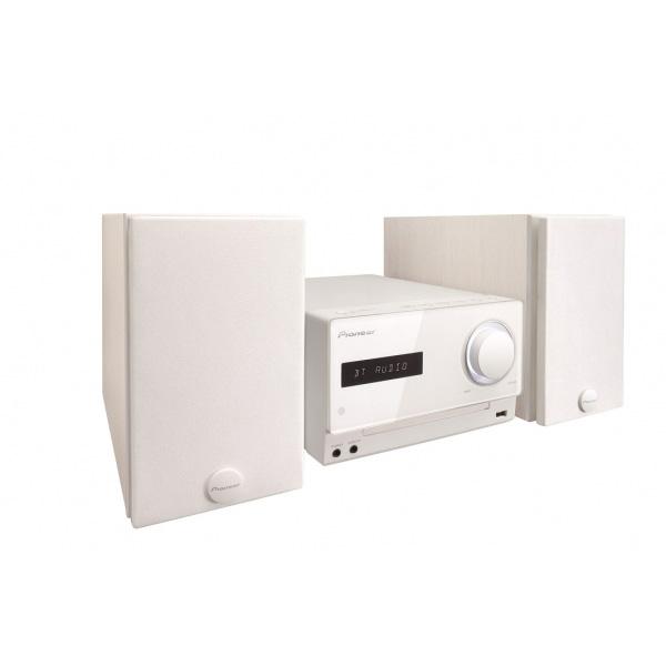 先鋒 Pioneer CD iPod iPhone iPad床頭音響 X-CM32BT-W