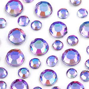 Ducato 指甲彩繪3D水鑽-紫水晶