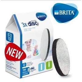 BRITA 二代Fill&Go 0.6L 隨身濾水瓶專用濾芯Filter Disc,3入裝359元。
