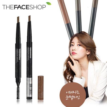 韓國 THE FACE SHOP 設計師眉刷筆 0.3g 多色可選 眉筆【B061547】