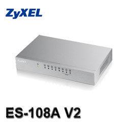 [NOVA成功3C] ZyXEL合勤 ES-108A v2 8埠桌上型高速乙太網路交換器  喔!看呢來