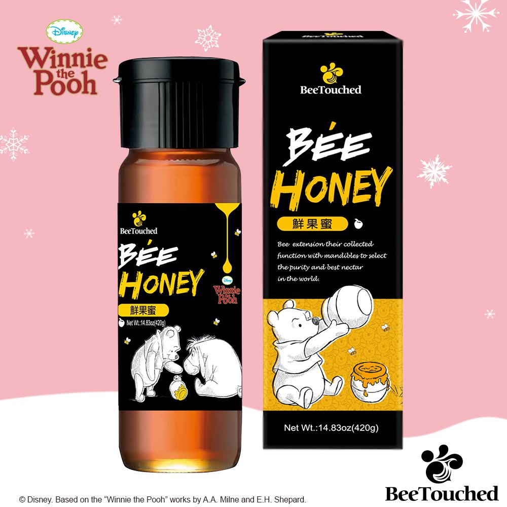 蜜蜂工坊-迪士尼維尼系列鮮果蜜420g
