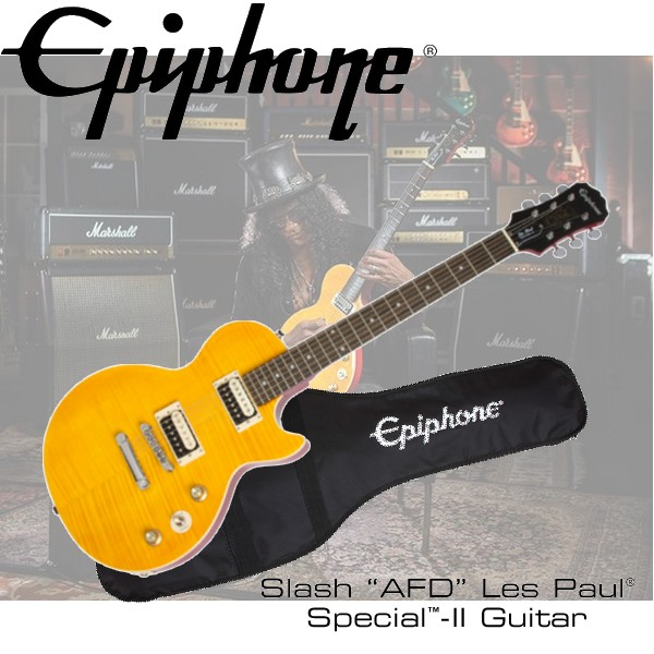 "『非凡樂器』Epiphone SLASH ""AFD""Les paul Special II 『槍與玫瑰吉他手』完美代言款/送GUITAR LINK界面"