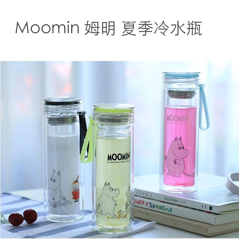 SG 芬蘭童話 moomin 魯魯米 隨身玻璃水杯 玻璃瓶 水瓶 水杯 水壺 非善魔師 太和工房 星巴克杯