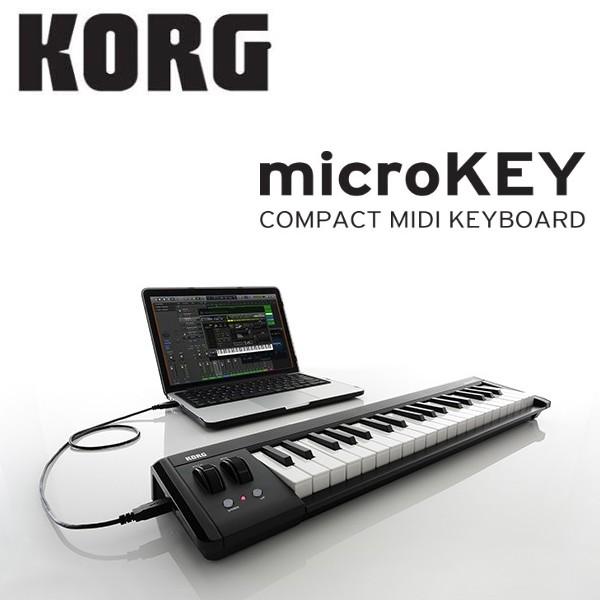 【非凡樂器】『Korg Microkey 2』 主控鍵盤/61鍵/midi keyboard控制器/宅錄打譜編曲最佳拍檔