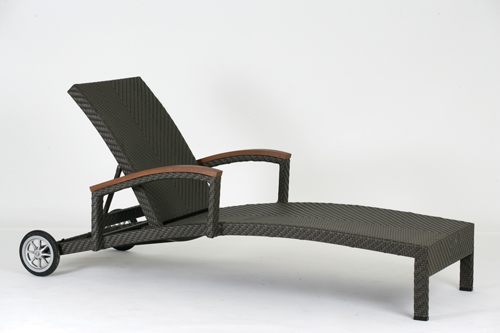 ALPINE 艾爾帕 躺椅 戶外家具【7OCEANS七海休閒傢俱】TIGER 咖啡混色