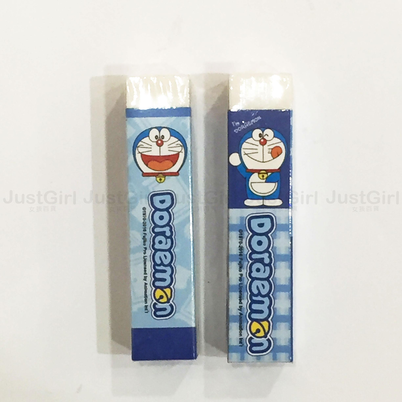 哆啦A夢 小叮噹 Doraemon 橡皮擦 長方形 文具 正版日本授權 * JustGirl *