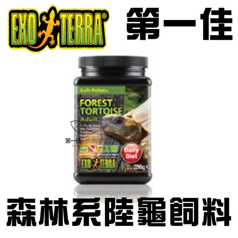 [第一佳水族寵物] EXO TERRA 爬蟲專家 森林系陸龜飼料 280g PT3225